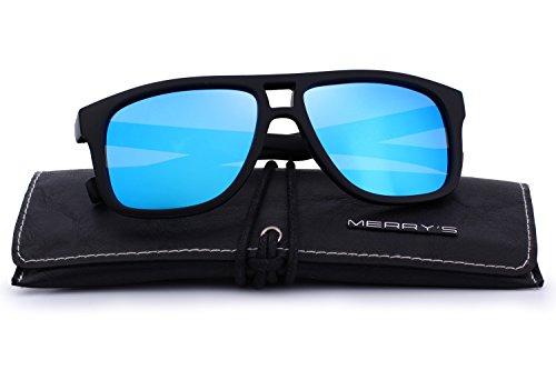 MERRYS Polarized Sunglasses for Men Driving Mens Sunglasses For Men/Women S8459 Blue