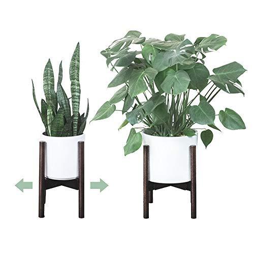Plant Stands Indoor | Mid Century Modern | Adjustable Width 9