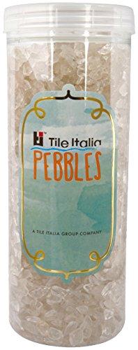 Tile Italia Pebbles Exotic Indian Crystal Polished Chips CH001 1 Kg - Translucent