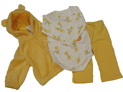 Gymboree Baby Boy 3 piece Giraffe Ensemble, 12-18 months, (Gymboree Giraffe)