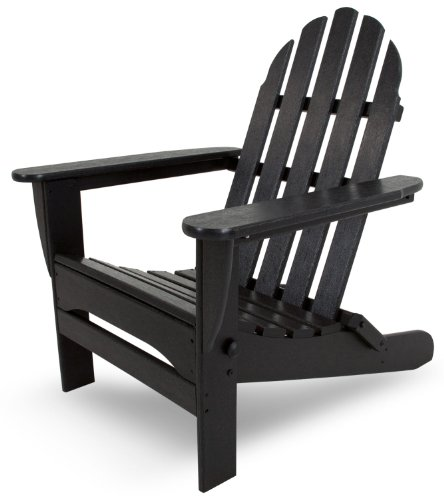 assic Folding Adirondack, Black ()