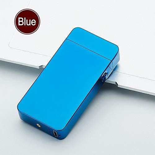 Xyste Briquet Arc /électrique Rechargeable USB Coupe-Vent sans Flamme Double Plasma dans Une bo/îte