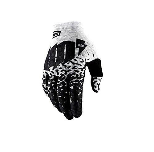 Orange Cycle Parts Men's Celium 2 Metal/White MX Motocross Gloves by 100% 10009-011 (Large)