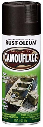Rust Oleum 1916830 Camouflage Spray, Black, 12-Ounce - 6 ...