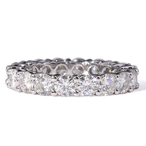 14K White Gold 2.8-3.6CTW F Co