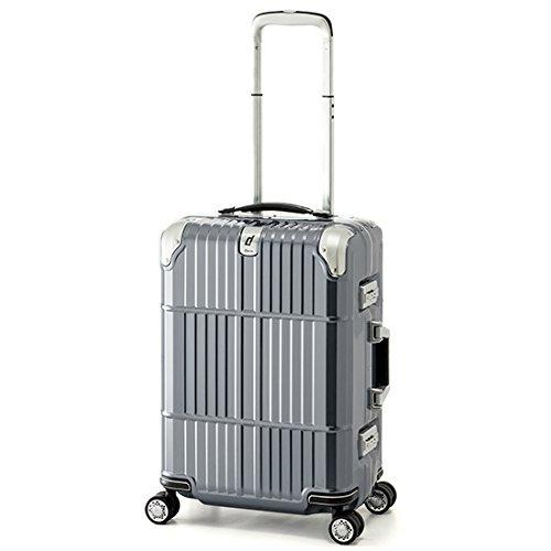 スーツケース 国内線機内持込可 | A.L.I (アジアラゲージ) departure (ディパーチャー) HD-509-21 フレーム B071XQZGBZシャイニンググレー