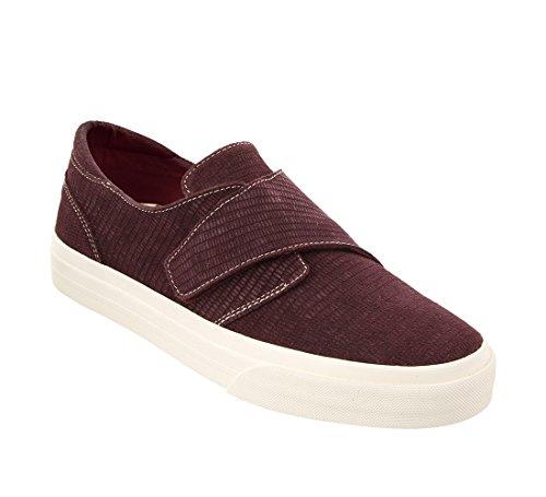 Soul Embossed Taos Sneaker Women's Footwear Suede Bordeaux SEExUZT