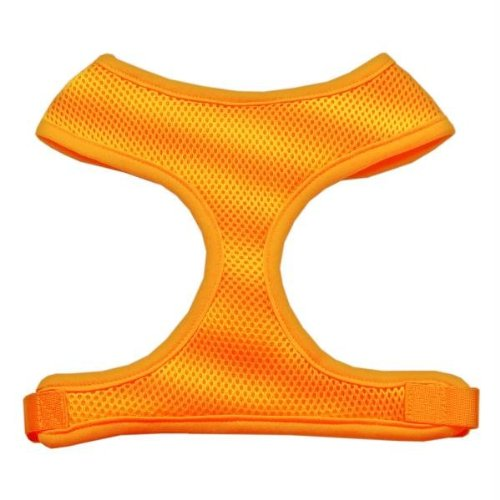 Mirage Pet Products Soft Mesh Dog Harnesses, Large, Orange