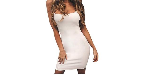 YEBIRAL Vestidos De Fiesta Mujer Cortos Ajustado Slim Fit con ...