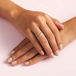 Pandora Piercing ad anello Donna argento – 196316CZ-52