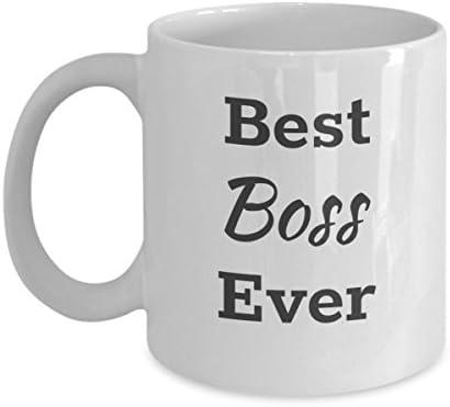 Funny Mug 11oz Best Boss Ever Coffee