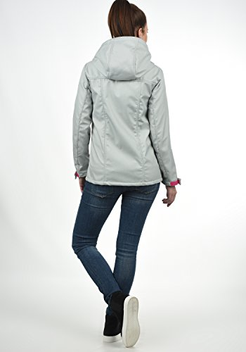Grey À Soley Desires 8242 Light Softshell Veste Capuche Femme Blouson Melange q8wRd1wX