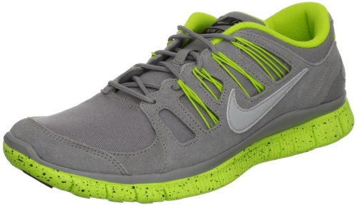 Nike Mens Free 5.0 Ext Running Sneakers Medium Grey/Strt Grey/Blk/Cybr
