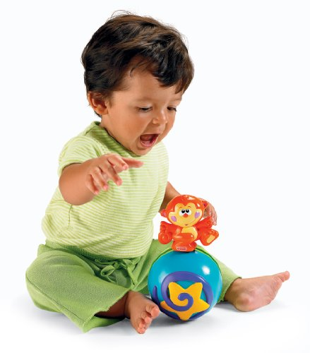 Fisher-Price Go Baby Go! Crawl-Along Musical Ball by Fisher-Price