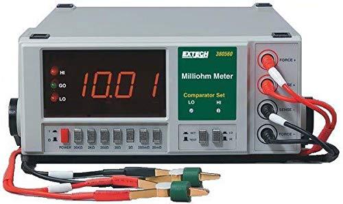 Extech 380562 High Resolution 220VAC Precision Milliohm Meter (High Resolution Milliohm Meter)