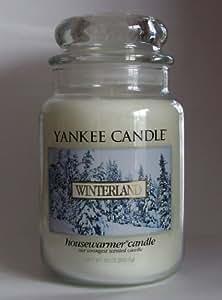 Amazon.com: Winterland - 22 Oz Large Yankee Candle Jar