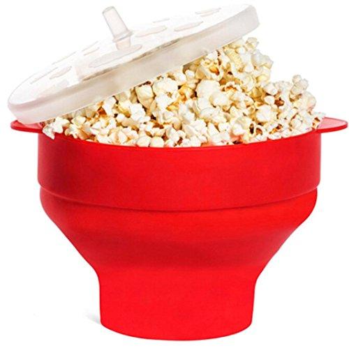 Xiaosan Popcorn Bucket Foldable Pop Corn Microwaveable Popcorn (Halloween Walt Disney World 2017)