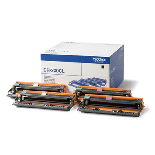 Brother DR230CL 4 Tamburi 15000 Pagine (Bk, C, M, Y) Cartucce Inchiostroperstampanti Toner