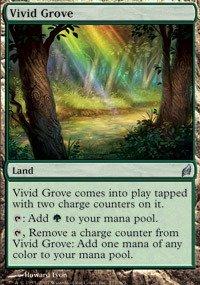 Magic: the Gathering - Vivid Grove - Lorwyn