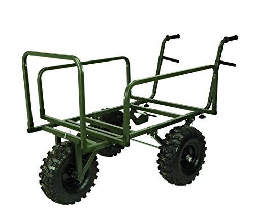 TF Gear Juggernaut Folding Carp Fishing Barrow Tackle Transportation Trolley