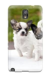 Best Hot Design Premium Tpu Case Cover Galaxy Note 3 Protection Case(puppies)