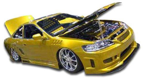 Duraflex ED-UWZ-992 Spyder Side Skirts Rocker Panels - 2 Piece Body Kit - Compatible For Honda Accord 1998-2002