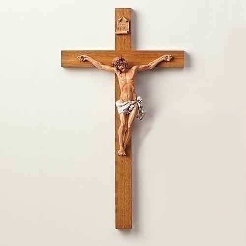 22.5'' Crucifix Wall Décor by Fontanini