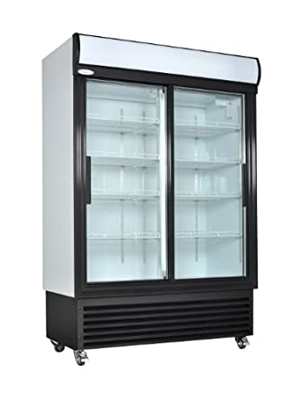 Amazon Kool It Ksm 42 Two 2 Glass Door Reach In Refrigerator
