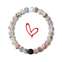 "Artist James Goldcrown, known for his Lovewall murals internationally, has designed the Hearts Lokai with a driven desire to spread love and embrace the highs and lows of life. He says, ""Hearts represent a universal language. They symbolize e..."