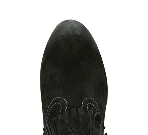 Scarpe Da Ginnastica Da Donna, Sneaker Nero Di Moda Stella