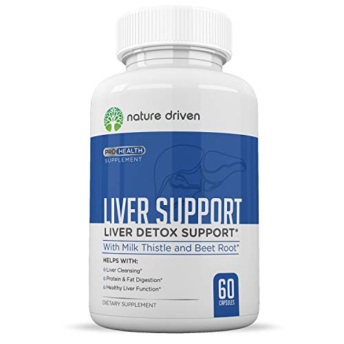 Liver Detoxifier & Regenerator - Helps to Cleanse & Repair - 22 All Natural Herbs Including Milk Thistle, Dandelion & Artichoke - 60 Veggie Caps Per Bottle