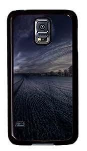 Farm Custom Samsung Galaxy S5/Samsung S5 Case Cover Polycarbonate Black