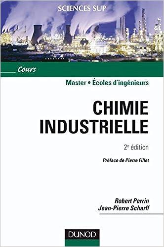 Lire en ligne Chimie industrielle pdf, epub