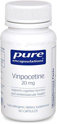 Pure Encapsulations Vinpocetine Hypoallergenic Cerebrovascular