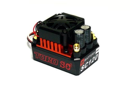 SKYRC TORO SC120 KV4000 R/C Brushless Motor & 120A ESC Speed Controller ME700 with RCECHO Full Version Apps Edition