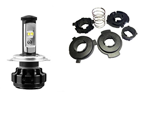 J&p Cycles Top - Radracing Motorcycle H4 LED Headlight Bulb fit for Harley Road King,Electra Glide Ultra Classic Dyna Ultra Limite Softail Heritage BMW Honda kawasaki Suzuki Yamaha Ducati Triumph