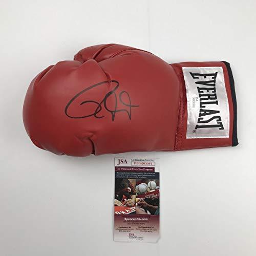 Jones Signed Football - Autographed/Signed Roy Jones Jr. Red Everlast Boxing Glove JSA COA Auto