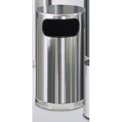 Metallic Designer 12 Gal. Waste Receptacle by Rubbermaid Commercial Products