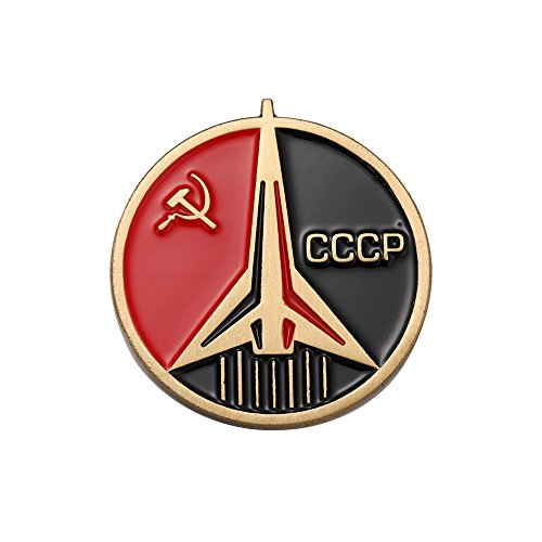 - CCCP Soviet Badges Russia Pin Space Flight Universe USSR Communism Insignia