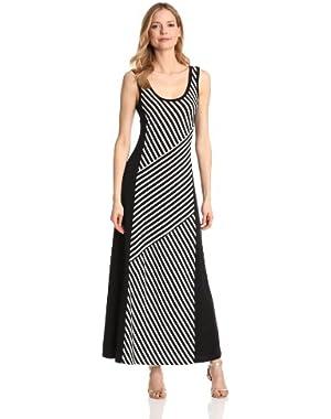 Calvin Klein Women's Block Stripe Maxi