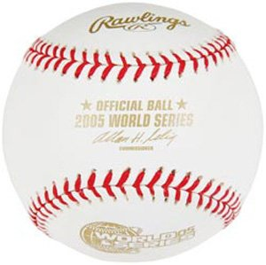 - 2005 Official Rawlings World Series Baseball