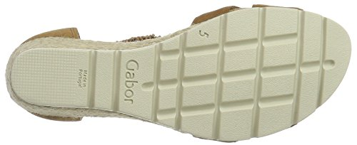 Plateau Comfort Gabor Da Donna, Beige Bianco (cammello (juta) 43)