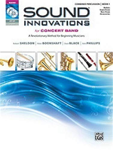 - Alfred Sound Innovations for Concert Band, Book 1 For Percussion (Book CD DVD)