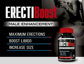 ErectiBoost - Enhance Pills MAX - Increase Size, Hardness, and Get POWERFUL Blood-Flow - Male Enhancement Pills - Male Pills - Male Enlargement - Increase Size NOW! 2.0