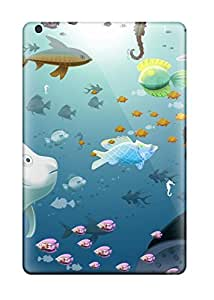 Bareetttt Case Cover For Ipad Mini/mini 2 - Retailer Packaging Fish For Bathroom Protective Case