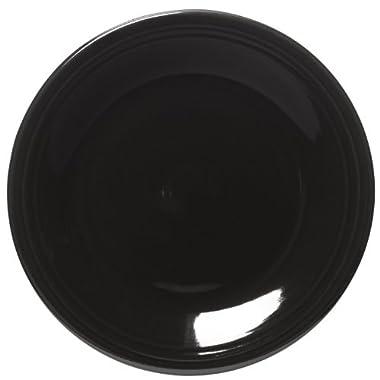 Fiesta 10-1/2-Inch Dinner Plate, Black