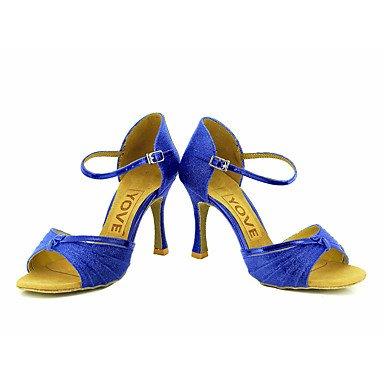 XIAMUO Anpassbare Frauen Beruf Tanz Schuhe, Schwarz, EU/US7.5 38/UK5.5/CN 38