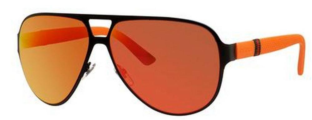 483639d7fa4 Amazon.com  Gucci Men s GG 2252 S Black Orange Red Mirror  Clothing