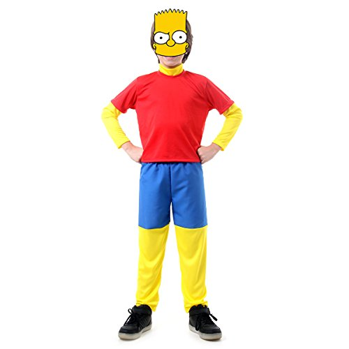 Bart Simpsons Infantil Sulamericana Fantasias P 3/4 Anos