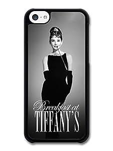Breakfast at Tiffanys Case for iPhone 5C Audrey Hepburn 436S